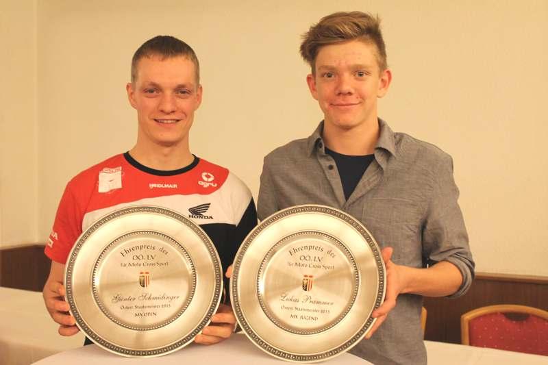 Günter Schmidinger und Lukas Prammer