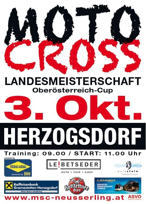 OÖ Motocross Cup in Herzogsdorf