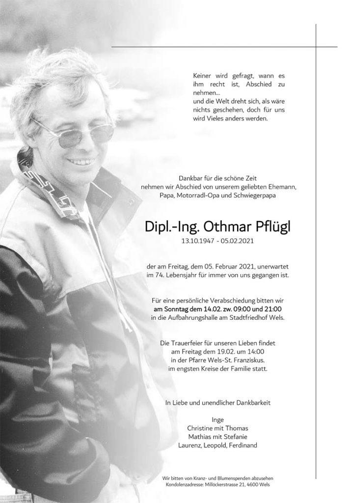 RIP Othmar Pflügl
